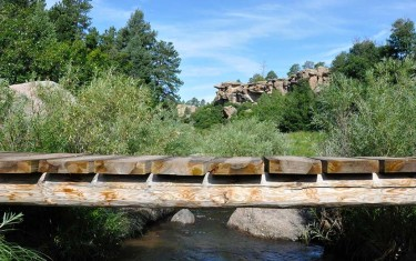 castlewood canyon state park trails header