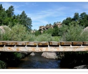 Castlewood Canyon State Park Hikes