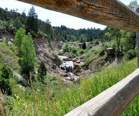 Waterfall Hike in Castlewood Canyon State Park, Colorado