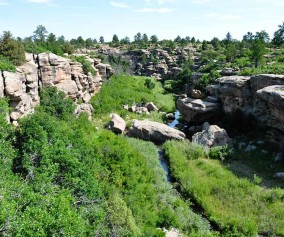 canyon view nature trail castlewood canyon header