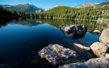 Bear Lake Hike at Rocky Mountain National Park