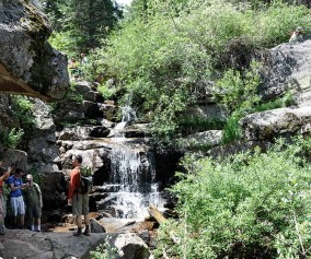 maxwell falls near evergreen colorado