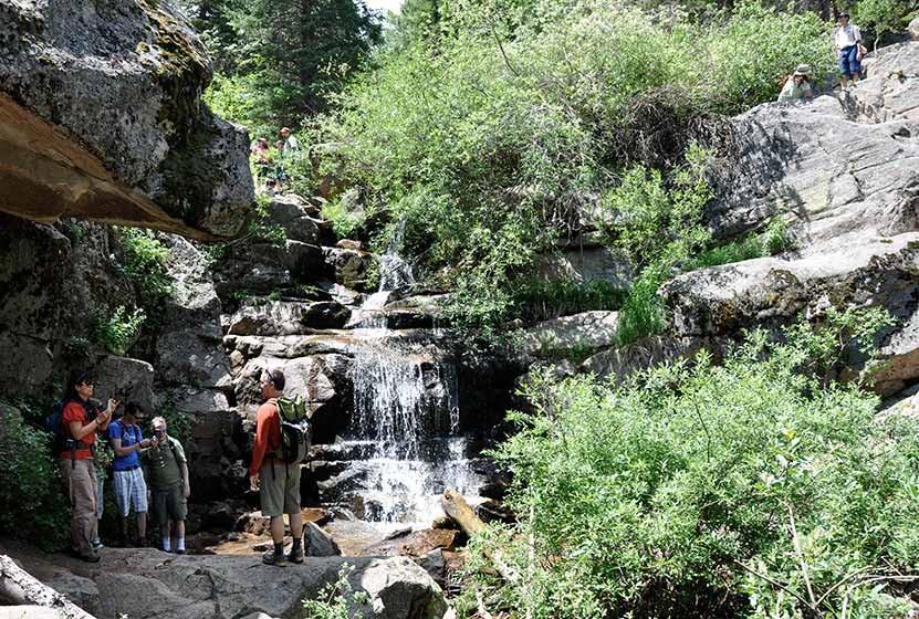 Maxwell Falls Near Evergreen, Colorado - Day Hikes Near Denver