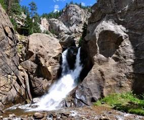Boulder Falls Near Boulder