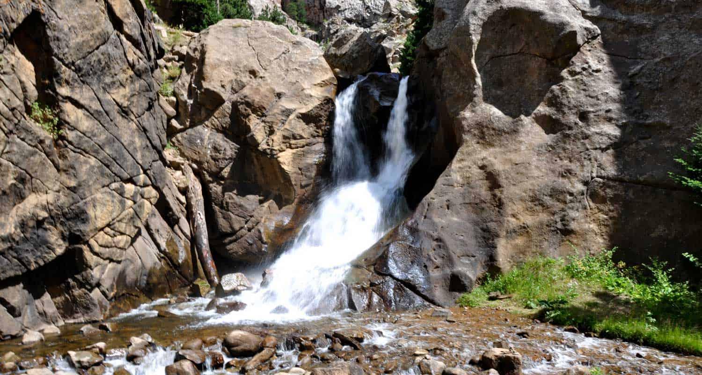 Waterfall Hikes Near Denver Colorado - Colorado waterfalls map