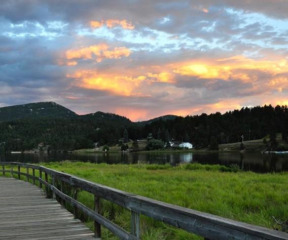evergreen lake trail header