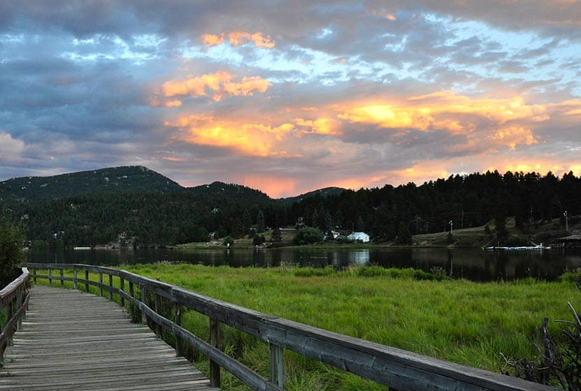 evergreen lake trail header