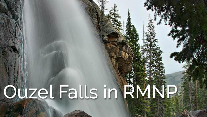 Ouzel Falls Hike in Rocky Mountain National Park