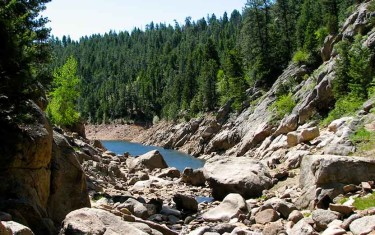 Forsythe Canyon to Waterfall and Gross Reservoir