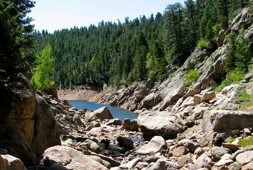 Forsythe Canyon to Waterfall and Gross Reservior - A Colorado Hike ...