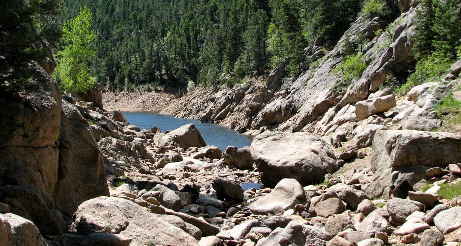Forsythe Canyon to Waterfall and Gross Reservoir Hike