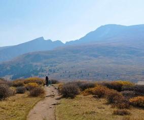 bierdstadt trail near guanella pass