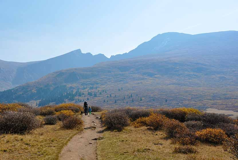 bierdstadt trail near guanella pass