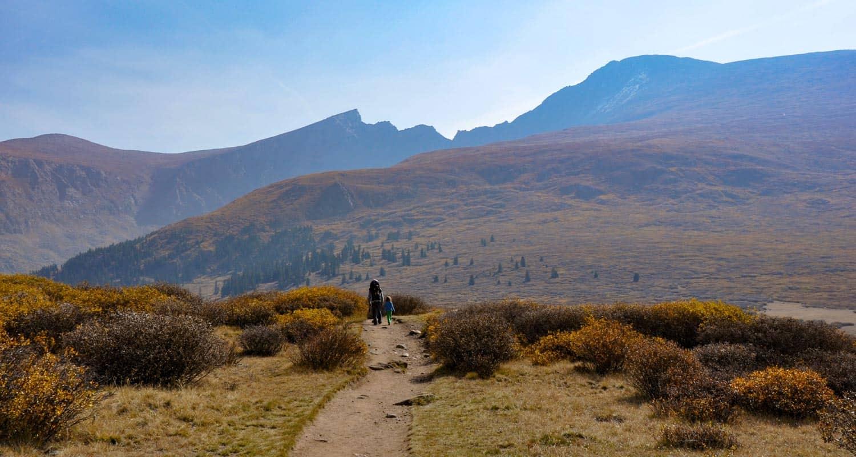 Mt. Bierstadt Hike on Guanella Pass