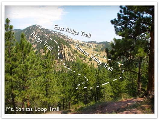 mt sanitas loop labeled