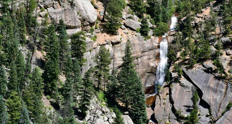 Elk Falls Best Waterfall Near Denver Opens To The Public - Colorado waterfalls map