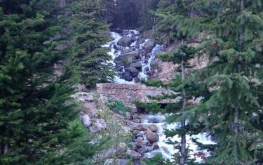 Cascades Near Berthoud Falls