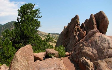 Red Rocks Trail at Settlers Park in Boulder