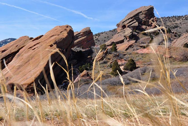Hikes at Red Rocks Park