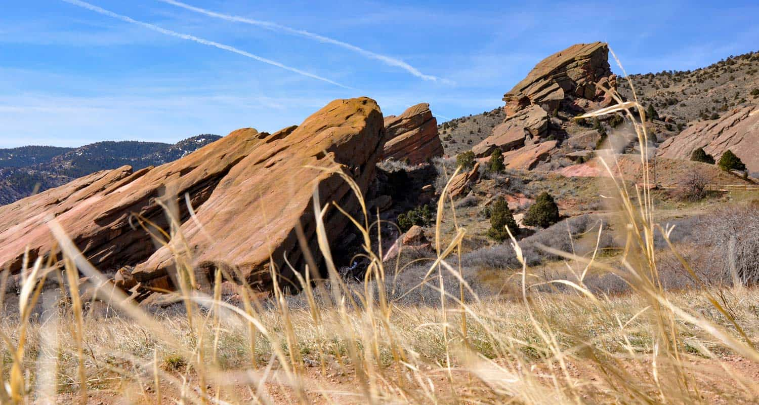 Red Rocks Trail at Red Rocks Park