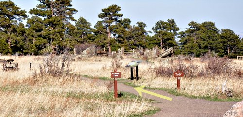 White Ranch Loop Rawhide trail beginning