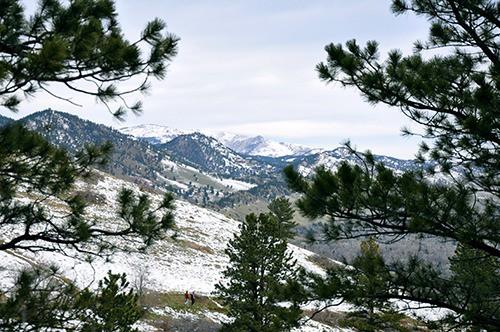 Enchanted Mesa Boulder Colorado