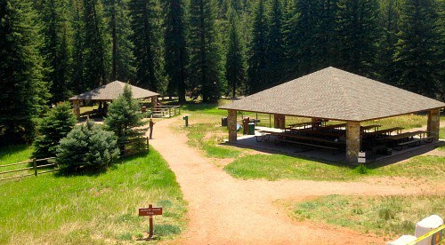 pine valley ranch picnic area