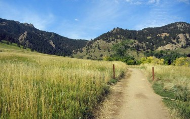 Hiking Green Mountain Near Boulder