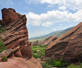 Trading Post Trail at Red Rocks Park, Colorado