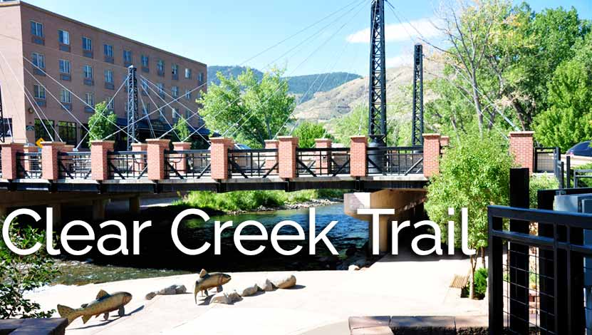 Clear Creek Trail in Downtown Golden