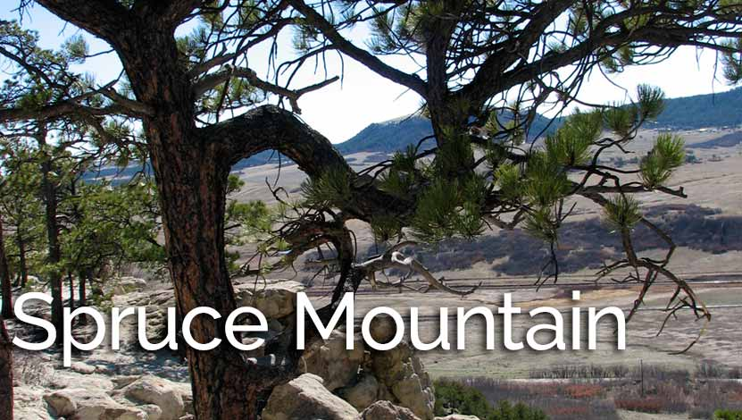 Spruce Mountain Hikes Near Larkspur