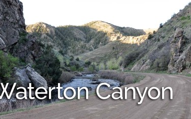 Hiking Beautiful Waterton Canyon