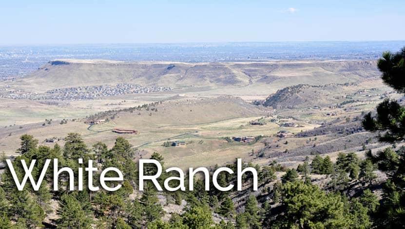 White Ranch Sunset Loop Near Golden