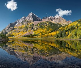 maroon bells colorado jerry blank
