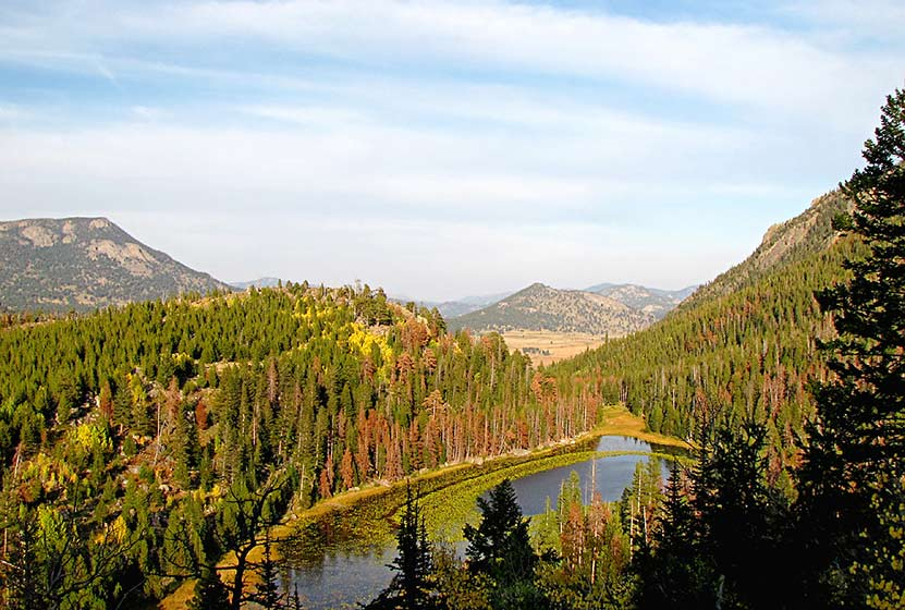 cub lake loop rocky mountain national park header