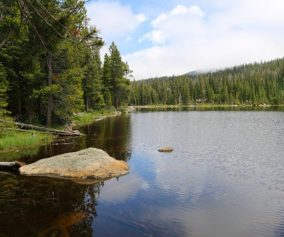 finch lake rocky mountain national park header