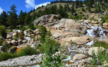 horseshoe falls rocky mountain national park header