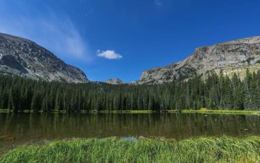 ouzel lake rocky mountain national park header
