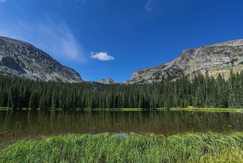 ouzel lake rocky mountain national park header