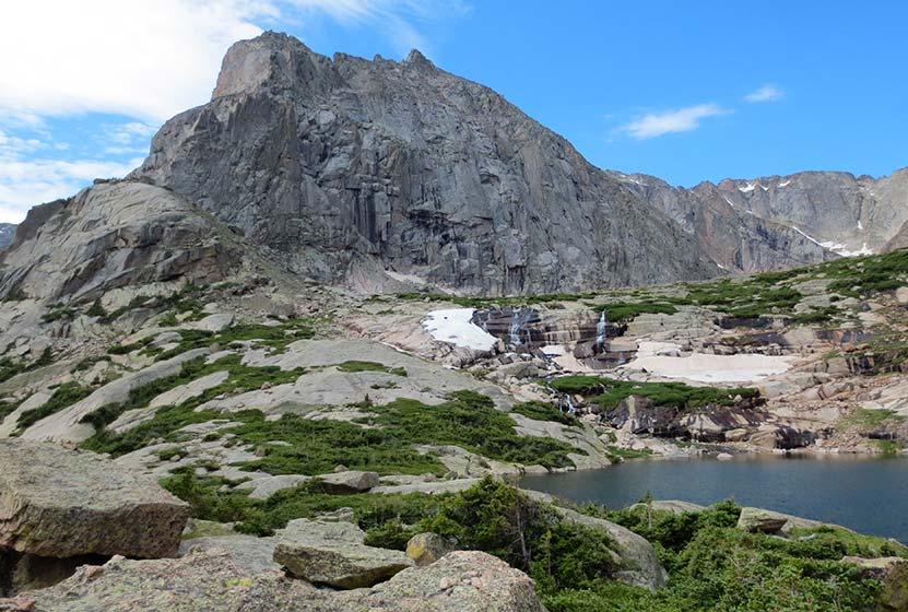 shelf lake rocky mountain national park header