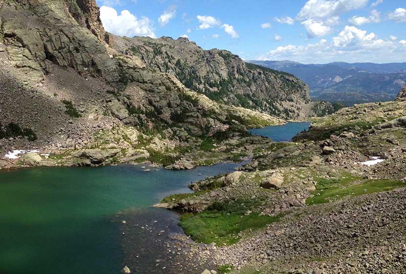 sky pond in rocky mountain national park header
