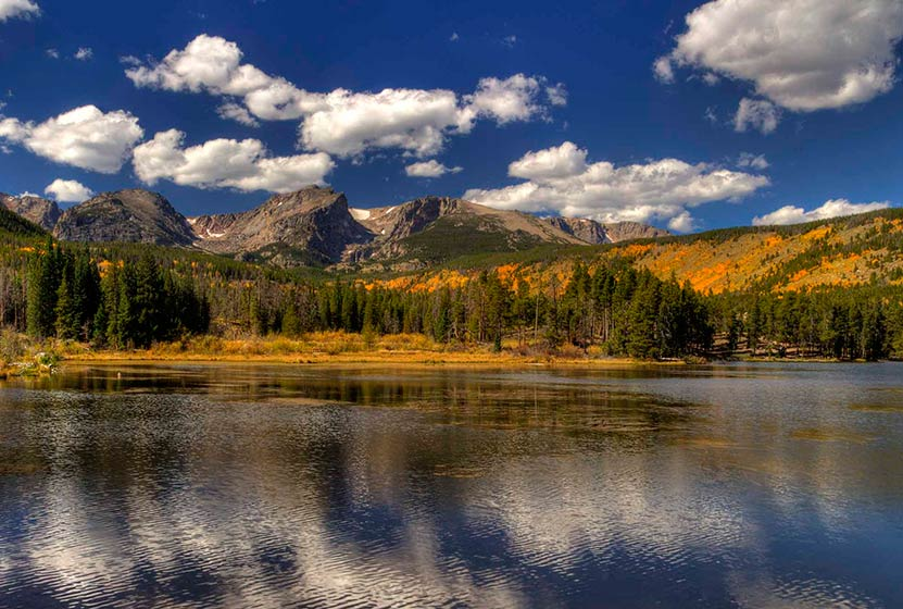 Sprague Lake Loop in Rocky Mountain National Park