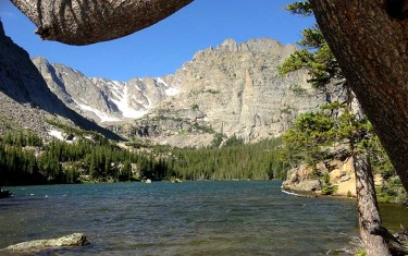 the loch rocky mountain national park header