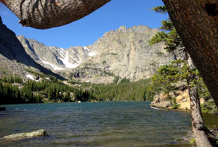 The loch in rocky mountain national park day hikes near for Fishing near denver