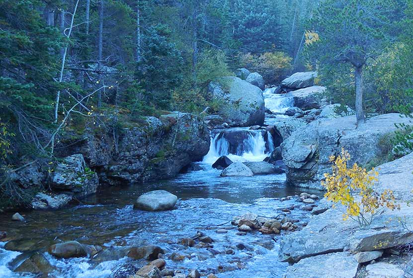 copeland falls rocky mountain national park