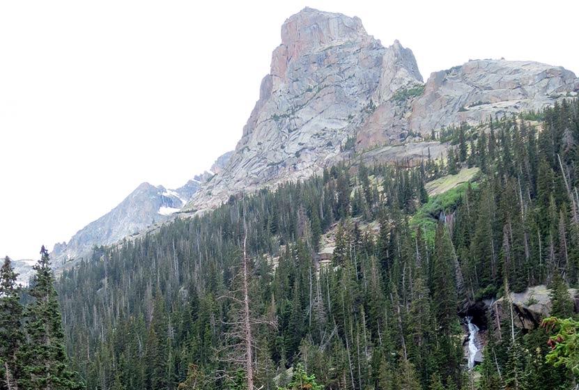 shelf lake rocky mountain national park arrowhead