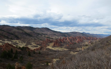 South Rim Loop Trail at Roxborough State Park