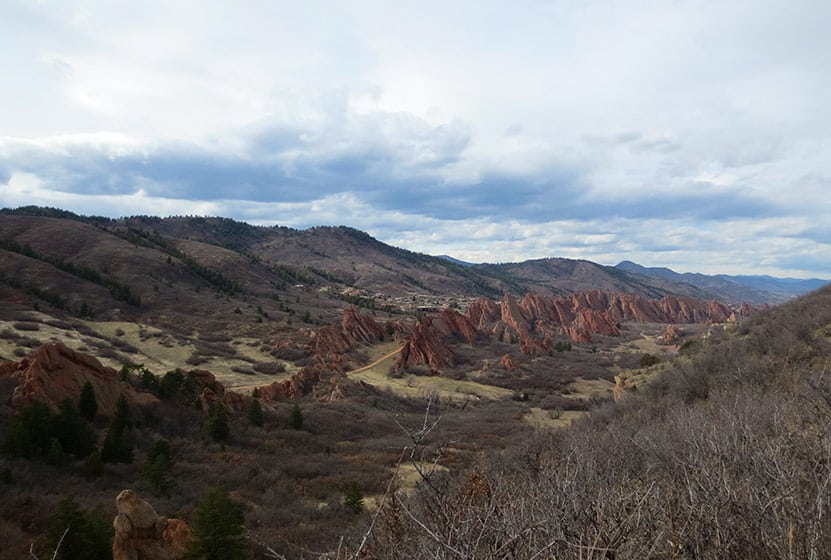 south rim trail roxborough state park