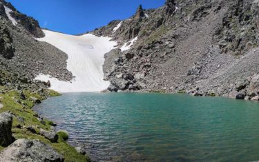 Andrews Glacier and Tarn in Rocky Mountain National Park