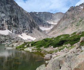solitude lake rocky mountain national park header